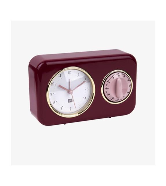Horloge bordeaux timer cuisine
