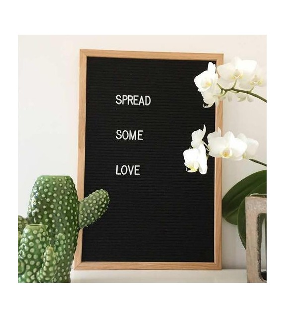 Letter board rectangle