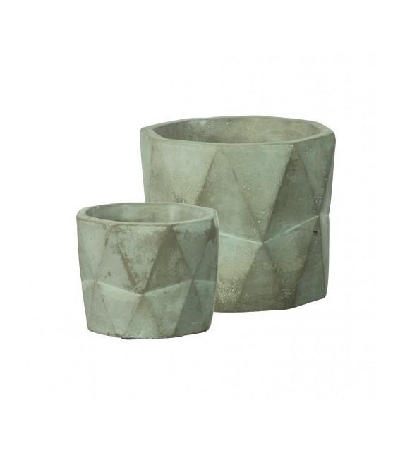 Cache pot beton
