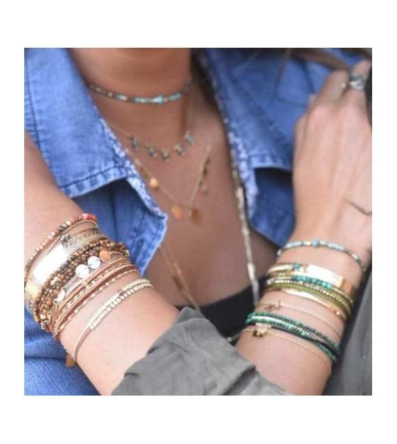 Bracelet doré Zag Bijoux