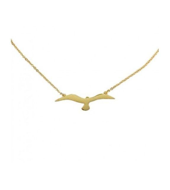Bracelet oiseau doré