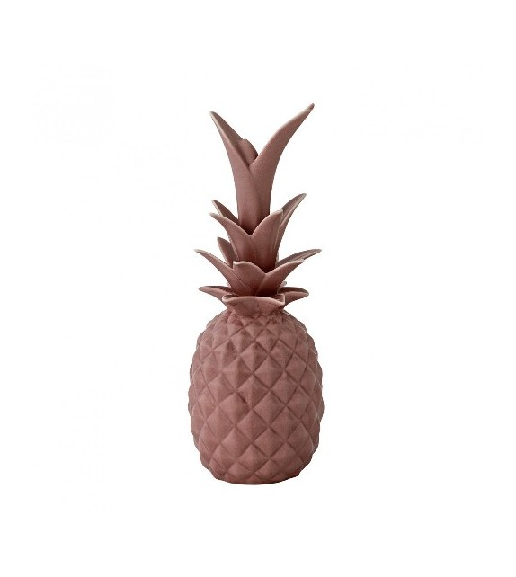 Ananas céramique rose