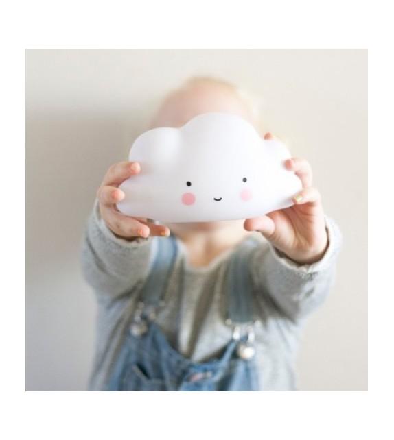 Veilleuse nuage blanche