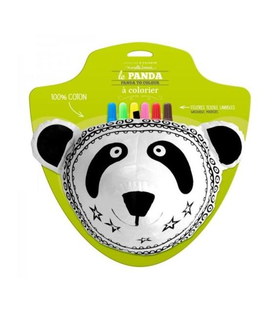 Trophée Panda à colorier