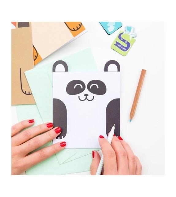 Carte postale panda