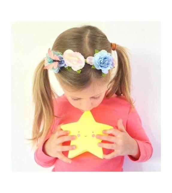 Veilleuse étoile jaune