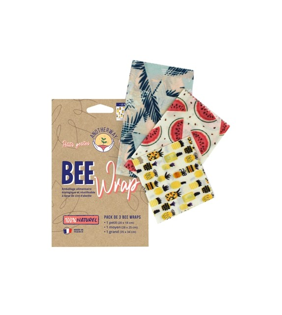 Pack 3 Bee Wraps