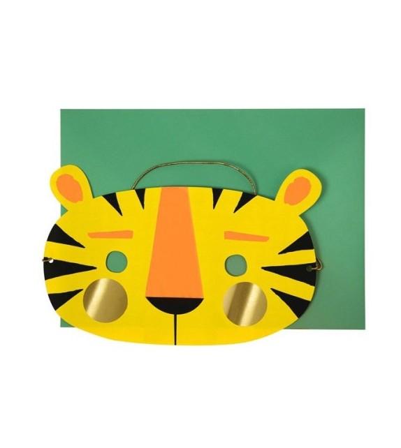 Carte masque tigre