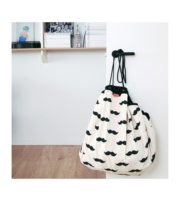 Sac Play and go MOUSTACHE