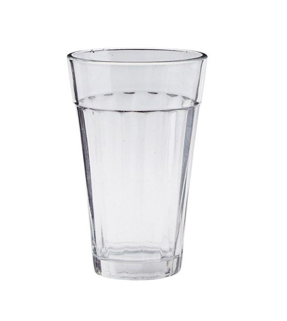 Petit verre style cantine