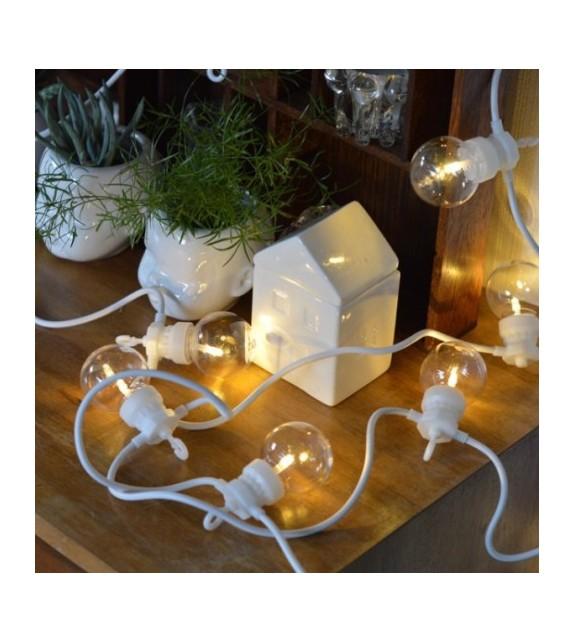Guirlande blanche LED indoor/outdoor