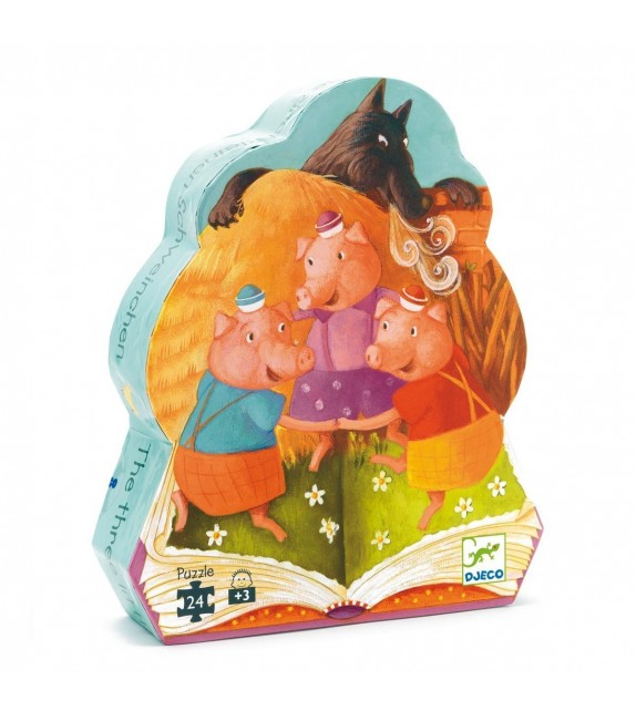 Puzzle Les trois petits cochons