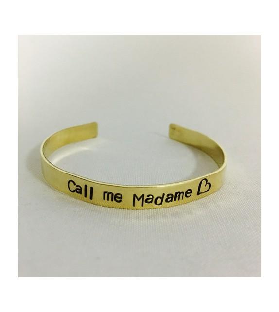 Jonc Call me madame