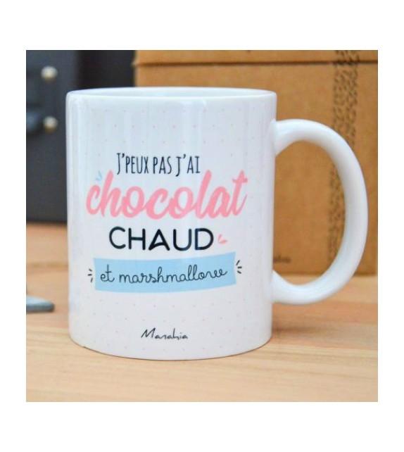 Mug J'peux pas j'ai chocolat chaud