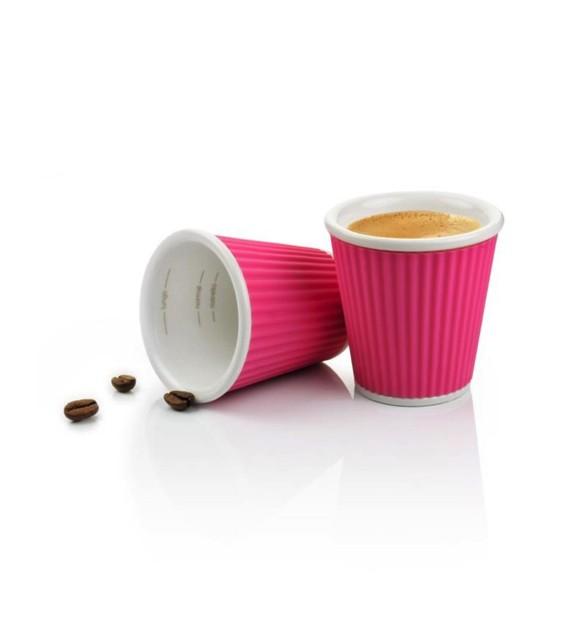 2 gobelets espresso et thé